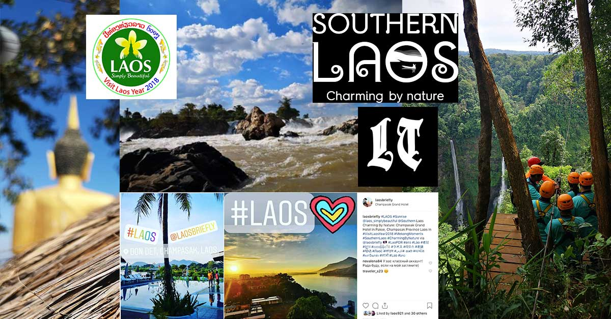 Nature and Culture prove Timeless as Southern Laos Charms With Mekong Moments from Visit Laos Year 2018 and Beyond