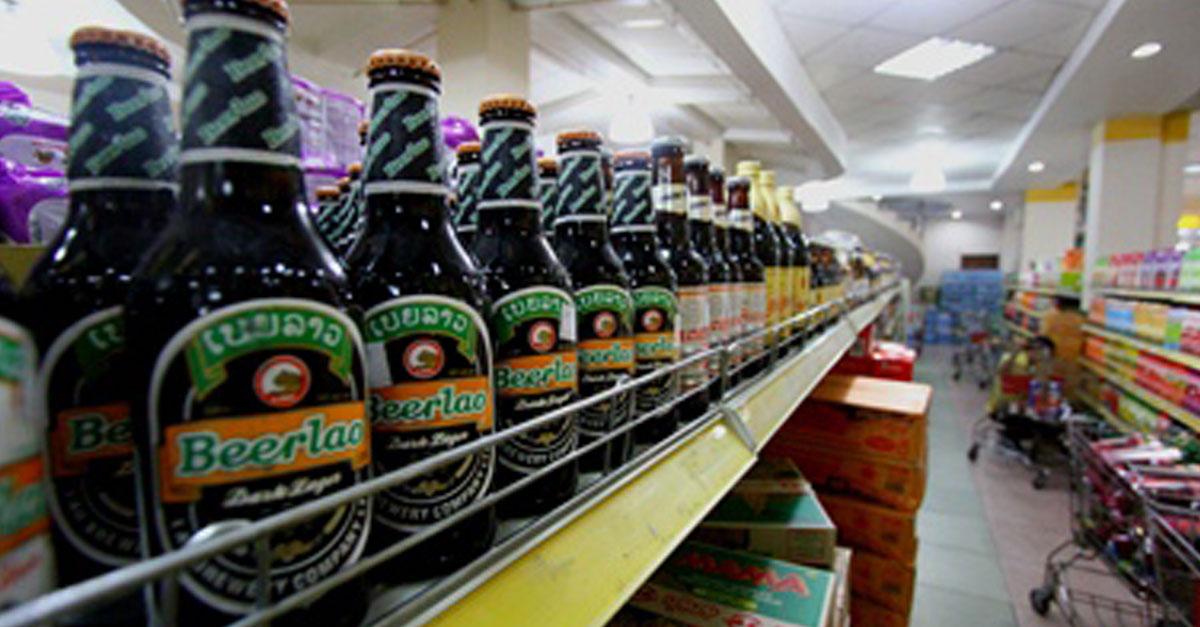 Vientiane Bans Sale Alcohol Before 4pm