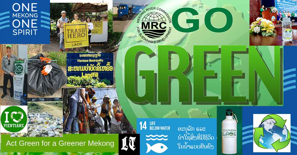 Act Green, Get Clean with Mekong River Commission
