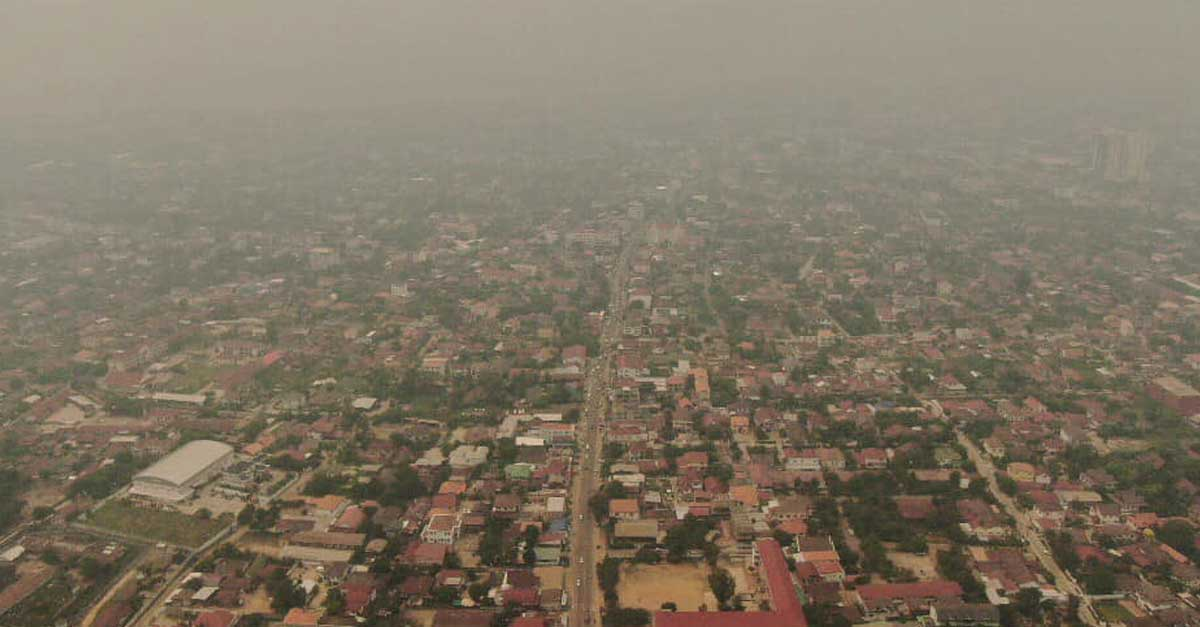 Smog Descends upon Laos