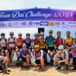 Cyclist Charity Team Dai on a Mountaintop!