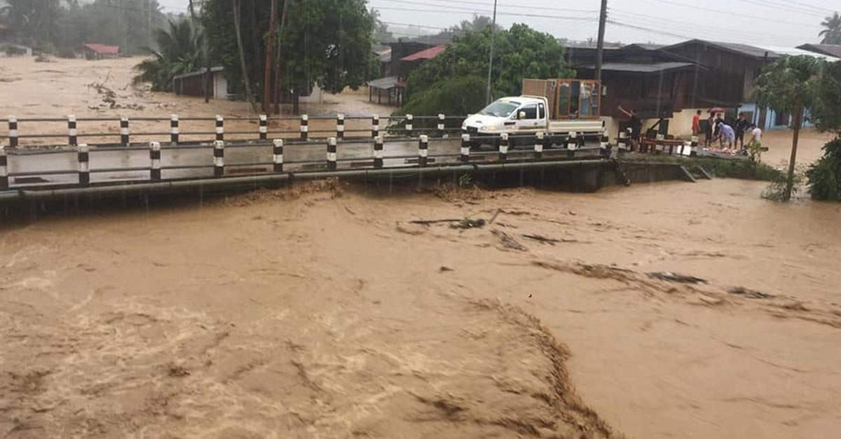 Flash Floods in Nan District, Luang Prabang
