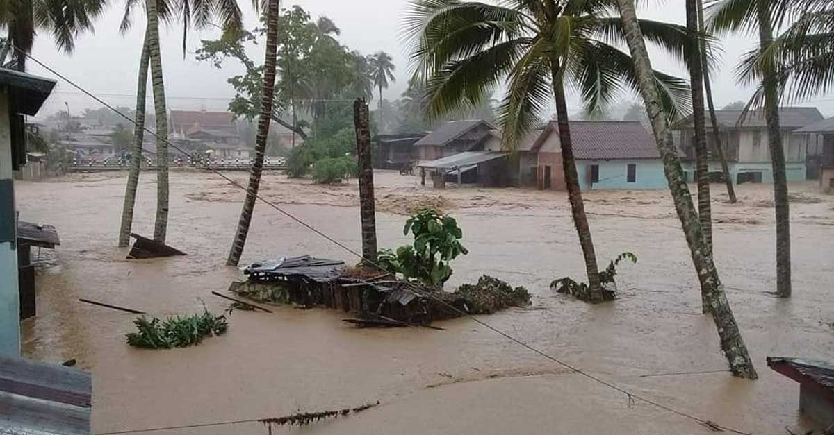 Flood Victims in Luang Prabang need assistance