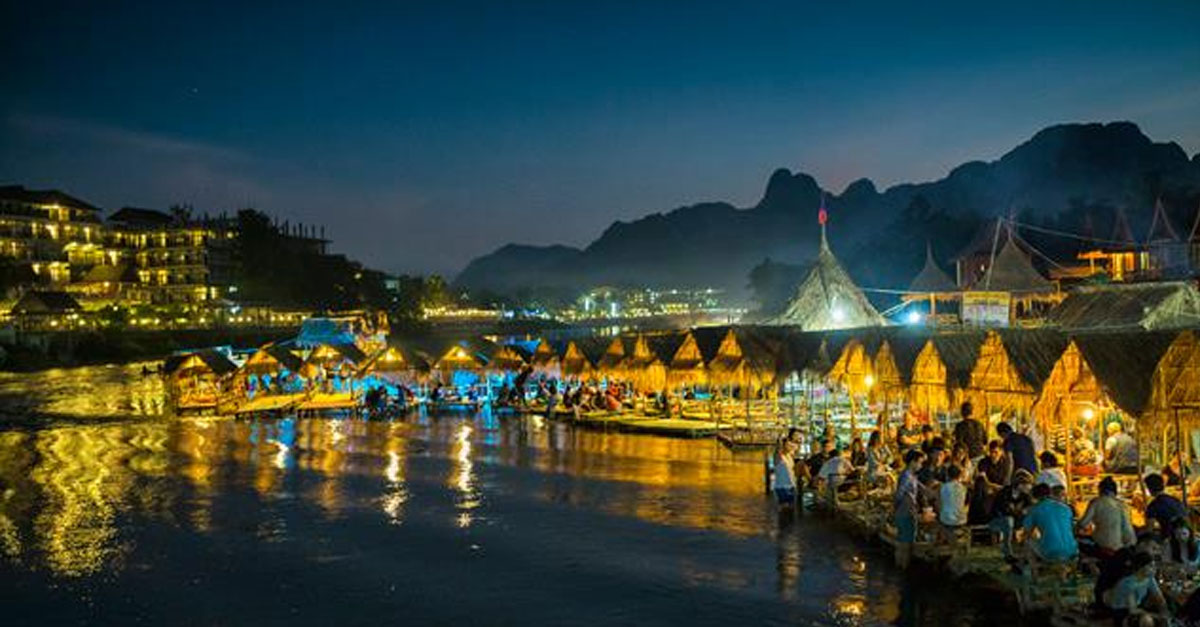 Vang Vieng at Night (Photo: PHOONSAB THEVONGSA)