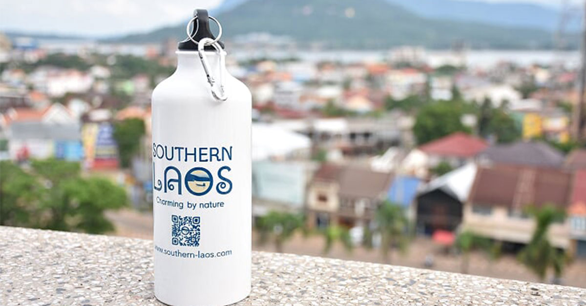 Refill not landfill with southern Laos bottle