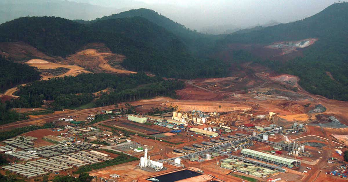Sepon Gold Mine Operation in Laos (Photo: Ausenco)