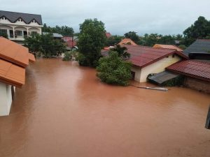 Severe Floods Hit Southern Laos, Salavanh in Need of Urgent