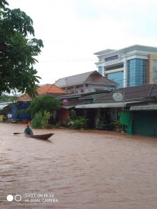 Severe Floods hit Southern Laos