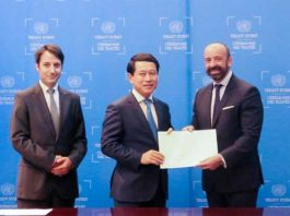 Laos signs two more UN treaties
