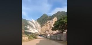 Cement Factory Explosion in Northern Laos