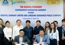 Loca, Lanexang Insurance Join Hands