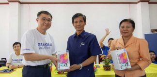 Samsung Partners with WFP
