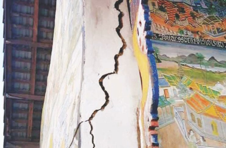Earthquake Damage in Hongsa, Xayaboury
