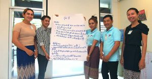 Lao Community Workers Make a Difference in Ending AIDS