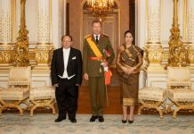 Lao Ambassador Presents Credentials to Luxembourg