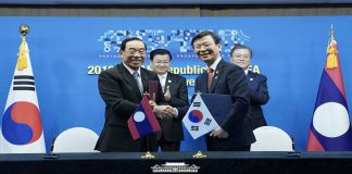 S Korea to help Laos develop port management