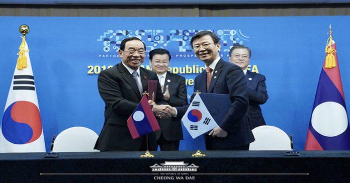 S Korea to help Laos develop port management