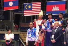 Laos Wins Gold Medal for Kickboxing at SEAgames