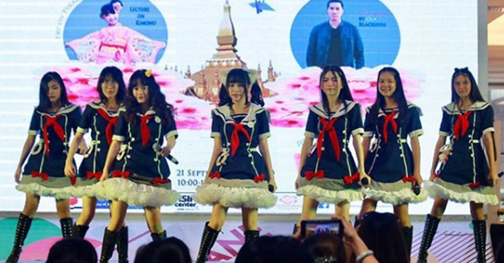 LaoNavy performing at Vientiane Center