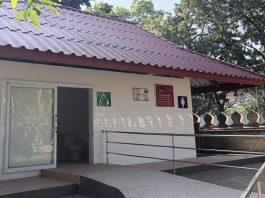 New Toilet at Wat Sisaket Named after Suwon in Korea