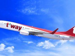 Daegu - T'way Air to Launch Vientiane - Daegu Route