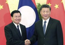 China Praises Laos as Good Friend