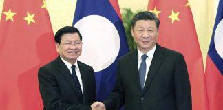 China Praises Laos as Good Friend