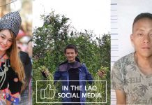 in the Lao social media, first week of 2020