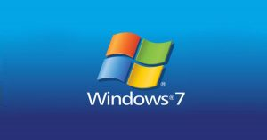 The Windows 7 Operating System is still widely used in Laos