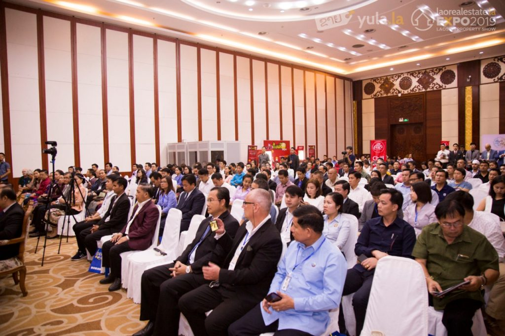 The Real Estate Expo Held by Digital Classifieds Lao in 2019